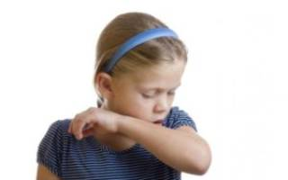 У ребенка сильный сухой кашель как лечить