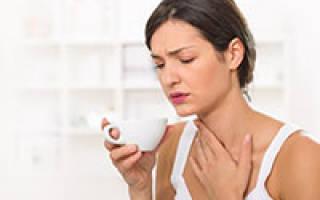 Горло болит и насморк лечение