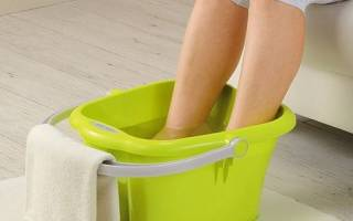 Ванночки для ног с горчицей от насморка