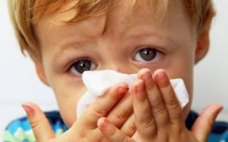 При сморкании кровь у ребенка