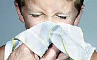 Ринит у детей лечение