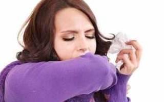 Появился кашель без температуры