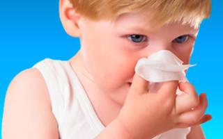 Лечение хронического ринита у детей