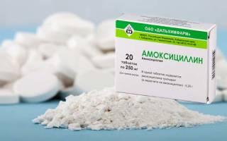 Амоксициллин 500 мг инструкция таблетки