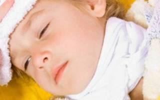 Как уксусом сбить температуру у ребенка