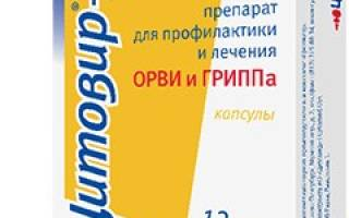 Цитовир лекарство