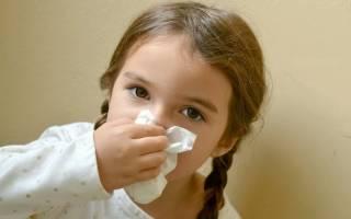 Хронический насморк у детей