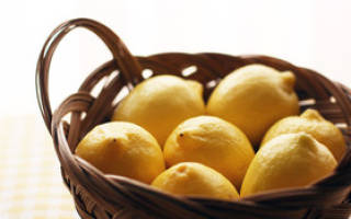 Лимон при гриппе и простуде