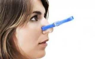 У ребенка постоянно заложен нос чем лечить