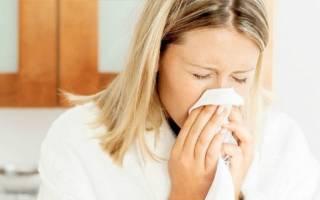 Чем лечить насморк при лактации