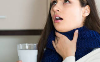 Соль и сода для горла