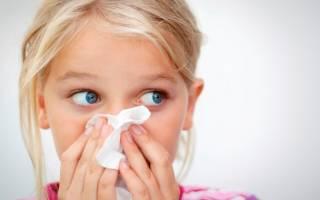 Из носа желтые выделения у ребенка