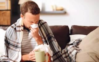 Через сколько после переохлаждения проявляется простуда