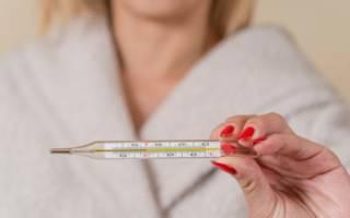 Что можно беременной от температуры