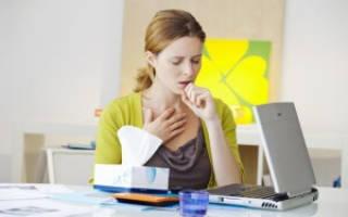 Как быстро избавиться от приступа кашля