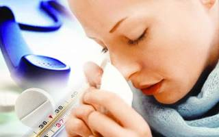 Как можно быстро выздороветь от простуды