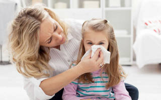 Антибиотики для детей при насморке