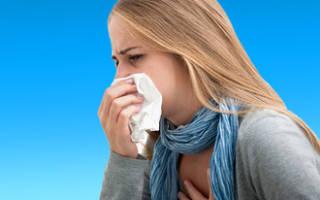 Сильный кашель насморк