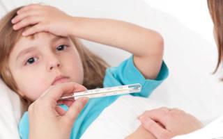 У ребенка высокая температура без симптомов простуды