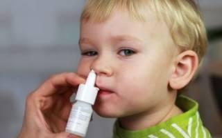 Капли в нос ребенку 4 года
