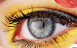 В глаз попала инфекция
