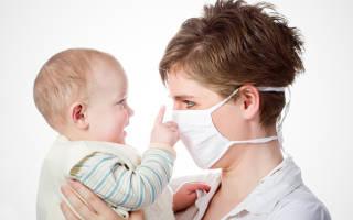 Заболела кормящая мама как не заразить грудничка
