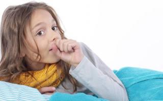 У ребенка начался сухой кашель что делать