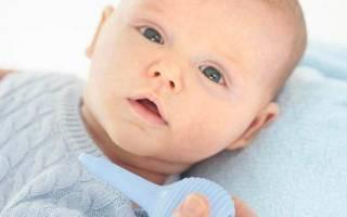 У младенца заложен носик что делать