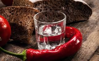 Лечение водкой с перцем при простуде