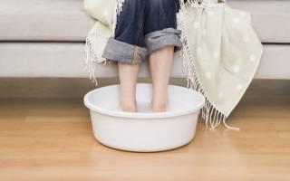 Сколько надо парить ноги