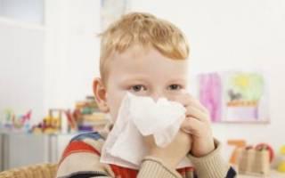 После орви у ребенка заложен нос