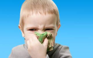Как убрать заложенность носа у ребенка