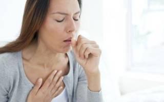 Приступы кашля после простуды